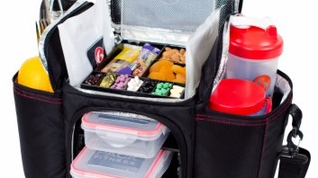 6 Pack Fitness Bags Meal Management System